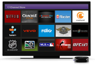 More choices with Roku