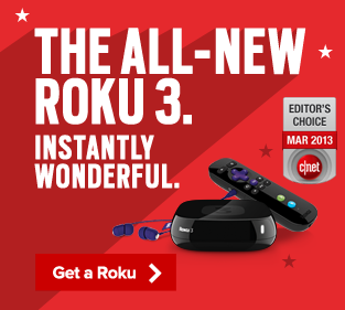 The all-new Roku 3. Instantly wonderful.