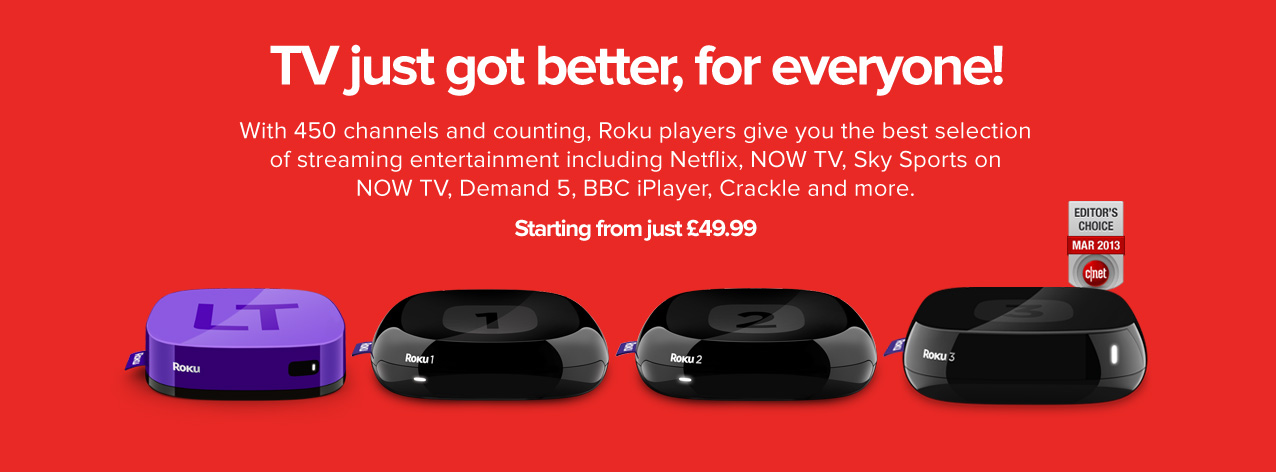 Amazon.com: Roku 3 Streaming Media Player:.
