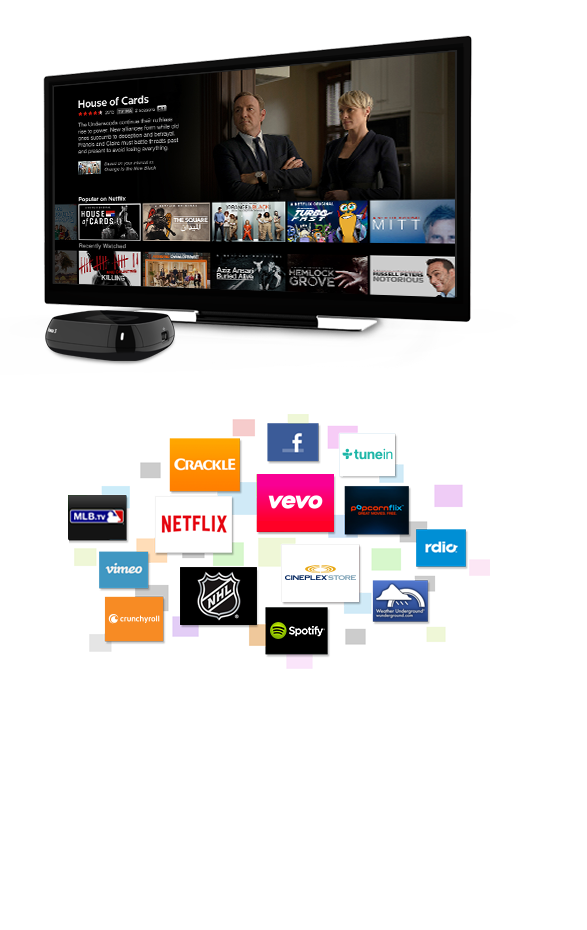 Roku Box: Rent, Buy, Stream, Movies, TV Shows, News
