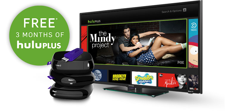 Limited-time special offers on Hulu and Rdio